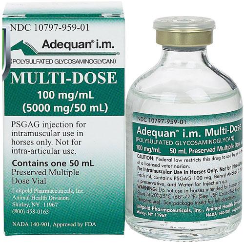Adequan Multi-Dose I.M 50ml,Adequan-I-M-Multi-Dose-100-mg-mL-50-mL