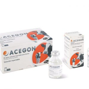 Acegon 50 mg/ml solution for injection for cattle