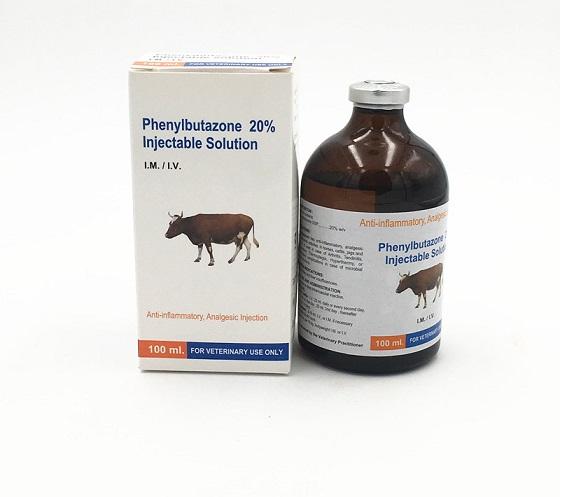 Phenylbutazone 20% 100ml Injection