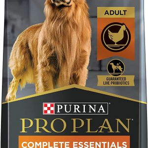 Purina Pro Plan with Probiotics Shredded Blend High Protein, Adult Dry Dog Food Chicken & Rice, Holistic pet food, Holistic dog food, Best chicken tenders for dogs, Best probiotics for chickens, Omega 6 for dogs